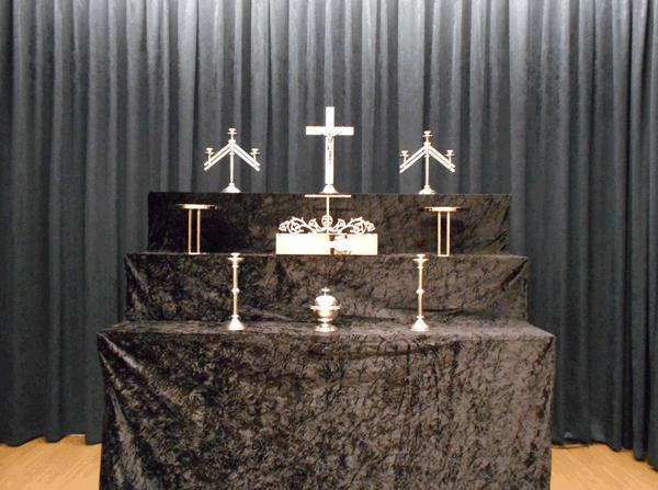 キリスト教式祭壇